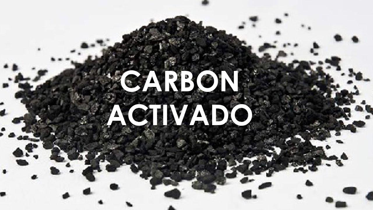 Carbón activado para el cuidado de la piel