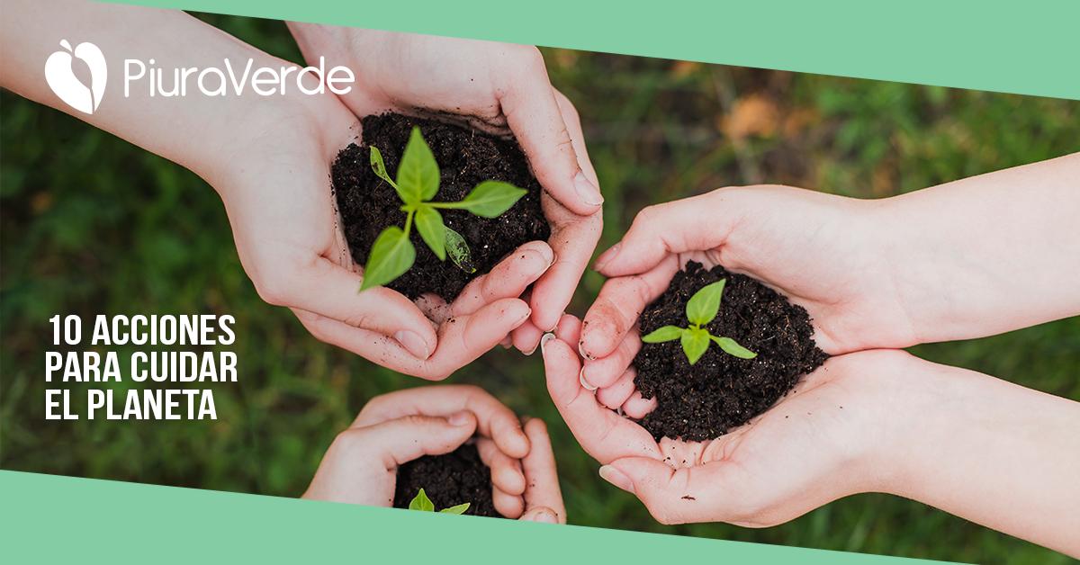 10 acciones para cuidar el medio ambiente