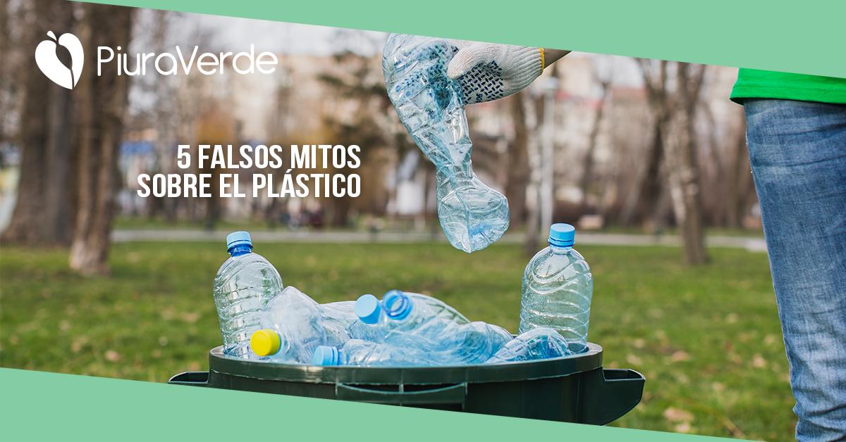 Plástico: 5 Mitos falsos  sobre el plástico
