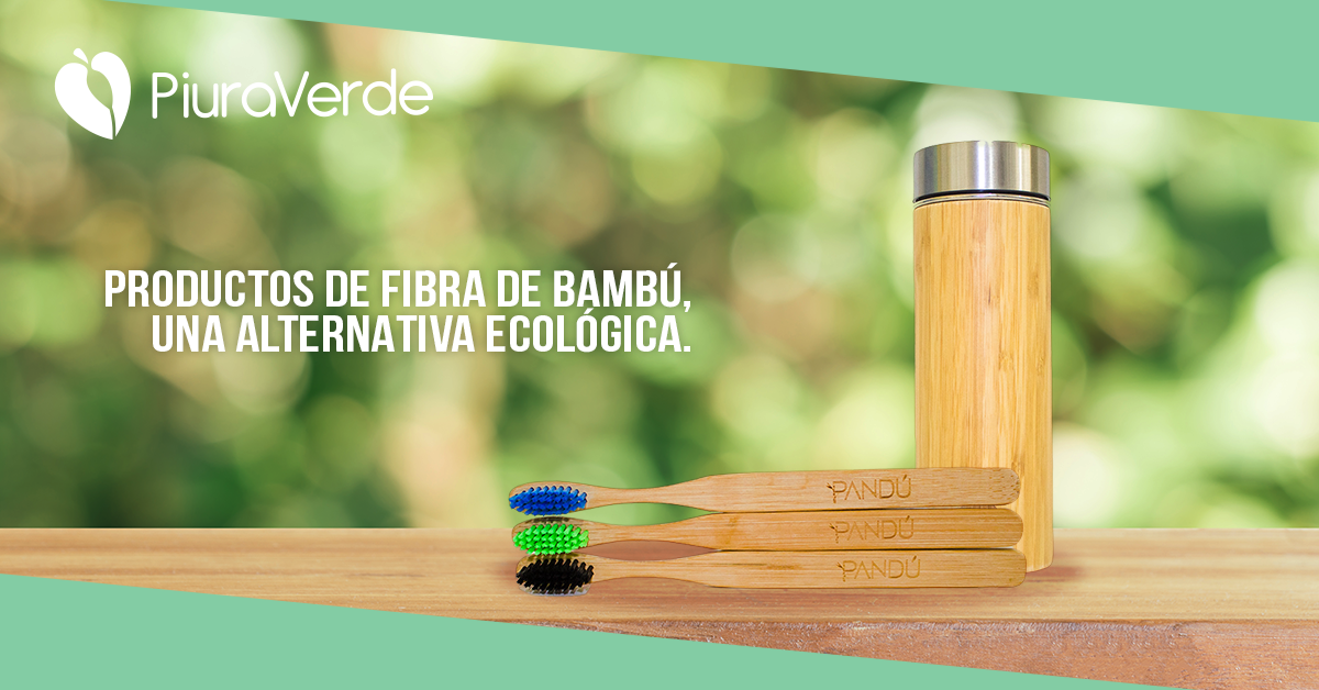 Productos de bambú, una alternativa ecológica